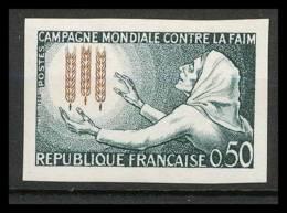 France N°1379 Campagne Mondiale Contre La Faim Blé Cote 46 Non Dentelé ** MNH (Imperforate) - France