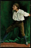 """Ref 1247 - Raphael Tuck Postcard - Sir Henry Irving As Mathias (2) """"The Bells"""" Actor Stage - Famous People"""