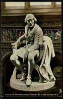 Ref 1247 - Raphael Tuck Postcard - Sir Henry Irving As Hamlet - Actor Stage Theme - Famous People