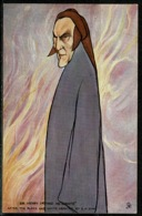 Ref 1247 - Raphael Tuck Postcard - Sir Henry Irving As Dante (2) - Actor Stage Theme - Famous People