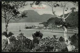 Ref 1247 - Early Postcard - Pago Pago Bay - American Samoa - Pacific Island - Samoa
