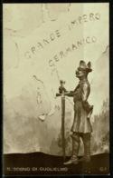 Ref 1247 - Early Italy Patriotic Card Postcard - Il Sogno Di Gulielmo - The Dream - Italy