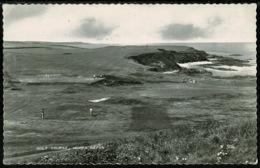 Ref 1247 - 1963 Real Photo Postcard - Morfa Nefyn Golf Course - Caernarvonshire Wales - Sport Theme - Caernarvonshire