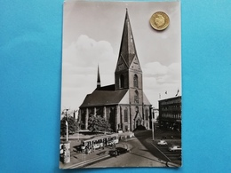 Kiel, Nikolaikirche, Strassenbahn, 1960 - Kiel