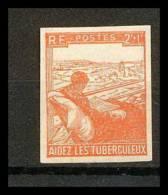 France N°736 Au Profit Des Tuberculeux Non Dentelé ** MNH (Imperforate) - France