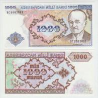 Azerbaijan 1000 Manat (1999)  Pick 20b UNC - Azerbaïjan