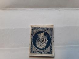 Empire No 14 A Bleu Foncé Obl Pc 3230 ST SAINT PAUL DE FENOUILLET Pyrénées Orientales, Indice 8, Sur Fragment,TB - 1853-1860 Napoléon III