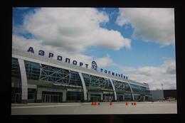 "NOVOSIBIRSK Airport ""Tolmachevo"". 120 Years Celebration. Rare Stamp  - Modern Postcard 2013 - Aerodromes"