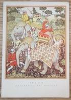 INDIA 1700 - ELEPHANT Elefante - Caccia Alla Tigre - Tiger Hunting - La Repubblica Dei Ragazzi  1962 - Elefanti