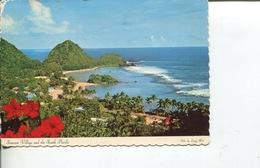 (6666) Samoa Islands - Picturesque Village - Samoa Américaine