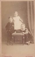 CDV PHOTO -3 SMALL CHILDREN  . SALCOMBE  STUDIO - Photographs