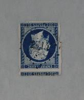 LOSANGE PETITS CHIFFRES  2714 DE ROHAN - 1853-1860 Napoleone III