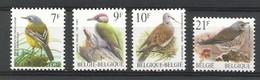 Belgien , Freimarken - Vögel - Postfrisch / MNH / (**) - Ungebraucht