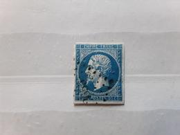 Empire No 14 , Obl Pc 3655 De VIROFLAY , Seine Et Oise / Yvelines  Indice 13 ,TB - 1853-1860 Napoléon III
