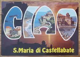 SANTA MARIA DI CASTELLABBATE - SALERNO - Ciao - Vg - Salerno