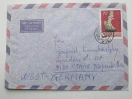 1978 , 70 F.  Bonsai Auf Luftpostbrief Nach Deutschland - Covers & Documents