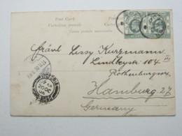 1906 , CANTON ,Postmark On  Picture Postcard Nach Deutschland - Chine
