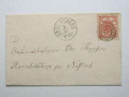 VORDINGBORG , Klarer Stempel Auf Brief - 1851-63 (Frederik VII)