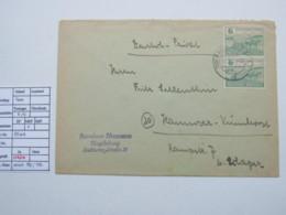 1945 , 6 Pfg. Bodenreform Im Paar , 85 Wb (2) , Geprüft !  , Brief Aus Magdeburg, Michel 190 Euro - Zone Soviétique