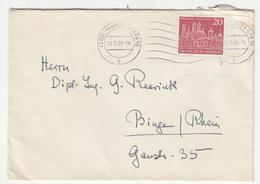 Germany, Letter Cover Travelled 1958 Hannover Pmk B181215 - BRD