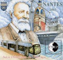 France - 2003 - Spring Philatelic Exhibition In Nantes - CNEP - Mint Souvenir Sheet - CNEP