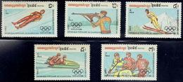 Cambodia 1983, Olympic Winter Games, Sarajevo 1984 - Cambodja