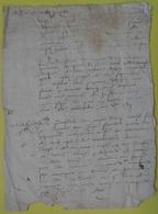 Manuscrit XVII Ou XVIII ème...à Déchiffrer. - Manuscripts