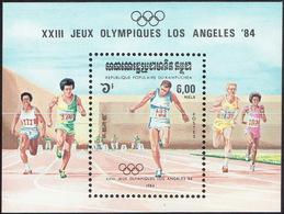 Cambodia 1984, Olympic Games, Los Angeles - Cambodja