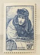 Timbre De France YT 461 (**) 1940, Georges Guynemer 50f Bleu (côte 20 Euros) – 142 - Ongebruikt
