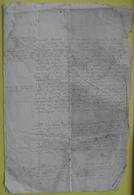 Manuscrit De 1564...à Déchiffrer.Ecriture Très Fine. - Manuscripts