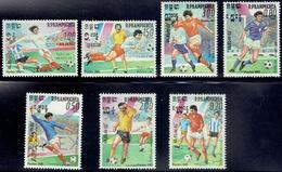 Cambodia 1985, World Championship Football Mexico 1986 - Cambodja