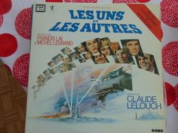 Les Uns Et Les Autres De Michel Legrand Et Francis Lai (2 «LP) - Soundtracks, Film Music
