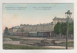 Podwoloczyska.Railway Station.Ukraine. - Pologne