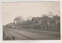 Petseri.Railway Station, Train. - Estonie