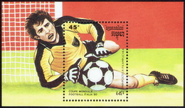 Cambodia 1990, World Championship Football Italy. - Cambodja