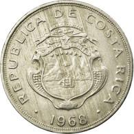 Monnaie, Costa Rica, 50 Centimos, 1968, TTB, Copper-nickel, KM:189.3 - Costa Rica