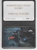 Belgique - Cartes Publicitaires - Johnny Halliday - N° 328 - 508L - Belgique