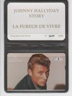 Belgique - Cartes Publicitaires - Johnny Halliday - N° 329 - 508L - Belgique