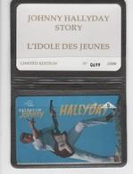 Belgique - Cartes Publicitaires - Johnny Halliday - N° 338 - 510L - Belgique