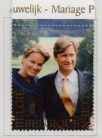 PIA - BELG - 1999 : Matrimonio Del Principe Ereditario Filippo Con La Sig.na Matilde Di Udekem   - (Yv  2853  ) - Belgique