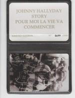 Belgique - Cartes Publicitaires - Johnny Halliday - N° 340 - 510L - Belgique