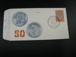 "BELG.1972 1616 FDC ""Belgisch-Luxemburgse Unie  /Union Belgo-Luxembourgeoise "" - FDC"