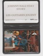Belgique - Cartes Publicitaires - Johnny Halliday - N° 360 - 601L - Belgique