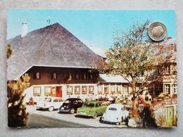 Schauinsland (Schwarzwald), Hotel Halde, Autos, VW Käfer, 1967 - Allemagne