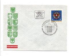 AUTRICHE FDC 1975 JOURNEE EUROPEENNE DES COMMUNES D'EUROPE - FDC