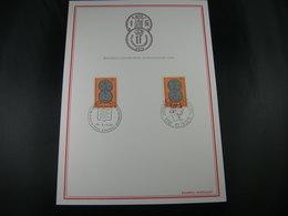 "BELG.1972 1616 FDC Filateliacard ""Belgisch-Luxemburgse Unie  /Union Belgo-Luxembourgeoise "" - FDC"