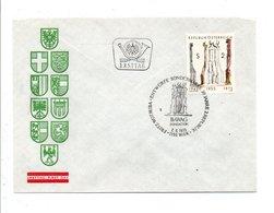 AUTRICHE FDC 1975 30 ANS 2 EME REPUBLUQUE - FDC