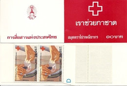 THAILAND, Booklet 3, 1980, Red Cross - Tailandia