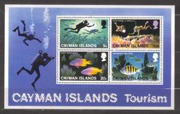 8592- Cayman, British Colonies , S/sheet Scott 385a  ** MNH - Cayman Islands