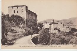 C.P. A. - VENCE - L'ANCIEN COUVENT ET L'ENTRÉE DE LA VILLE - 1012 - N. D. - Vence